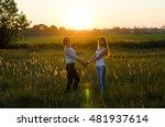 sister lovers | Shutterstock . vector #481937614