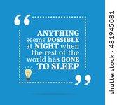 inspirational motivational... | Shutterstock . vector #481945081