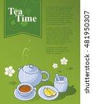 tea | Shutterstock .eps vector #481950307