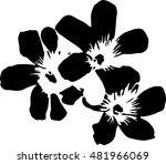 Stock vector flowers 481966069
