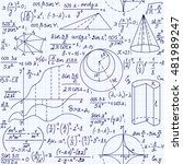math educational vector... | Shutterstock .eps vector #481989247