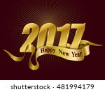 happy chinese new year 2017... | Shutterstock .eps vector #481994179