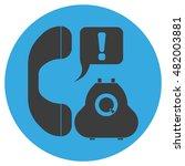 stylish vector icons. grey... | Shutterstock .eps vector #482003881