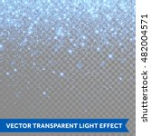 Vector Neon Blue Glitter...