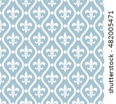 seamless ornamental pattern...   Shutterstock .eps vector #482005471