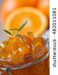 homemade candied peels orange ... | Shutterstock . vector #482011081