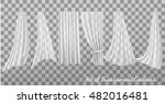 big collection of transparent... | Shutterstock .eps vector #482016481