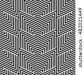 vector pattern. modern stylish... | Shutterstock .eps vector #482021449
