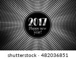 happy new year 2017 and... | Shutterstock .eps vector #482036851