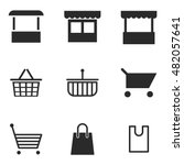 store vector icons. simple...