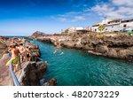 garachico  spain   september 3  ... | Shutterstock . vector #482073229