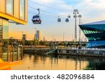 thames cable car at royal... | Shutterstock . vector #482096884