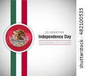 mexico independence day | Shutterstock .eps vector #482100535