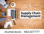 scm supply chain management... | Shutterstock . vector #482107777