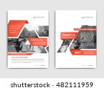 cover design annual report... | Shutterstock .eps vector #482111959