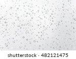 water drops on glass ... | Shutterstock . vector #482121475