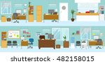 Office Interiors Template With...