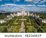 Aerial View Of Lomonosov Mosco...