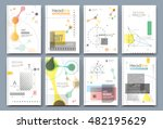 abstract composition. math... | Shutterstock .eps vector #482195629