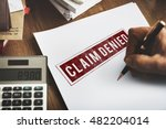 delayed banned cancelled denied ... | Shutterstock . vector #482204014