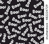 halloween tile vector pattern... | Shutterstock .eps vector #482224729