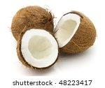 Sweet cocos - stock photo