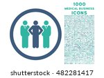 team rounded vector bicolor... | Shutterstock .eps vector #482281417