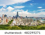view of the city in kaohsiung   ... | Shutterstock . vector #482295271