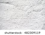 white cement plaster wall... | Shutterstock . vector #482309119