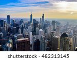 chicago  illinois   october 15  ... | Shutterstock . vector #482313145