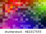colored squares. abstract... | Shutterstock .eps vector #482317555