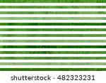 Watercolor Green Striped...