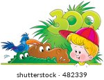 child at a zoo | Shutterstock . vector #482339