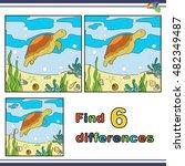 illustration   find the... | Shutterstock .eps vector #482349487