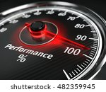performance level meter with...   Shutterstock . vector #482359945