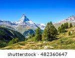 matterhorn   beautiful... | Shutterstock . vector #482360647