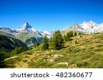 matterhorn   beautiful... | Shutterstock . vector #482360677