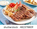 Prepared Surf And Turf Well...