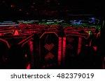 Darkness   Neon Lights  Laser...
