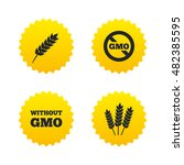 agricultural icons. gluten free ... | Shutterstock .eps vector #482385595
