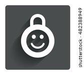 child lock icon. locker with...