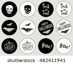 stickers for the holiday... | Shutterstock .eps vector #482411941
