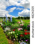 Blooming Colorful Flowerbeds I...