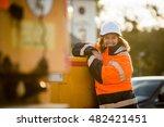 portrait of senior woman... | Shutterstock . vector #482421451