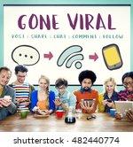 social media networking online... | Shutterstock . vector #482440774