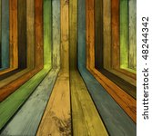 creative wood background | Shutterstock . vector #48244342