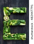 complete collection of alphabet ... | Shutterstock . vector #482447791