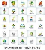 vector abstract business logo...   Shutterstock .eps vector #482454751
