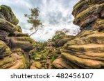 Brimham Rocks Yorkshire Dales...