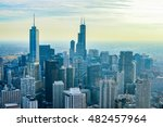 chicago  illinois   october 15  ... | Shutterstock . vector #482457964